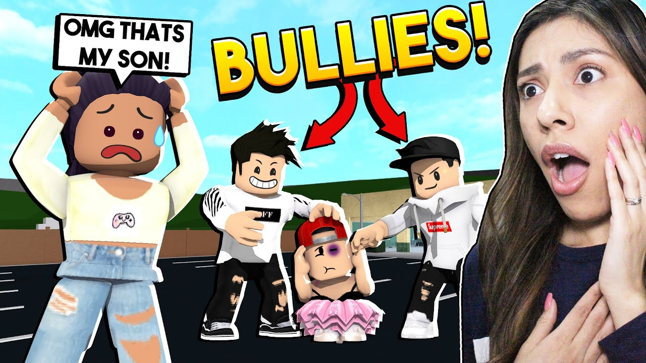 Thanksgiving With The Death Family Roblox My Son Got Bullied You Wont Believe What They Did To Him Roblox Bloxburg Youtube