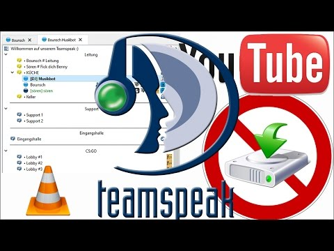 Musikbot für TS3 der von Youtube abspielen kann erstellen (kostenlos)