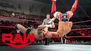 Ricochet vs. Karrion Kross: Raw, Aug. 23, 2021