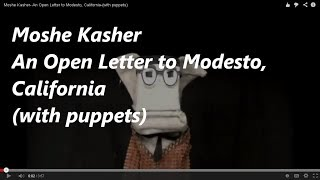 Moshe Kasher- An Open Letter to Modesto, California-(with puppets)