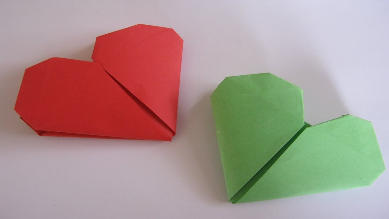 How To Make A Paper Heart For Valentines Day Great Origami Craft Activitie Kids