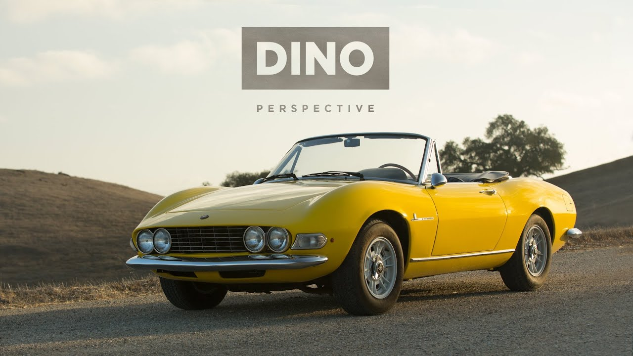 The Fiat Dino Spider Gives A New Perspective Youtube