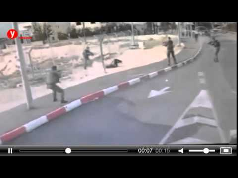 Palestinian knife attack Israeli soldiers ,Israel, east Jerusalem, Abu Dis [ November 10 2015]