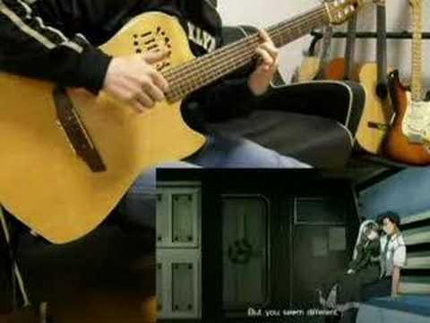【BLACK LAGOON】The World of Midnight on Guitar