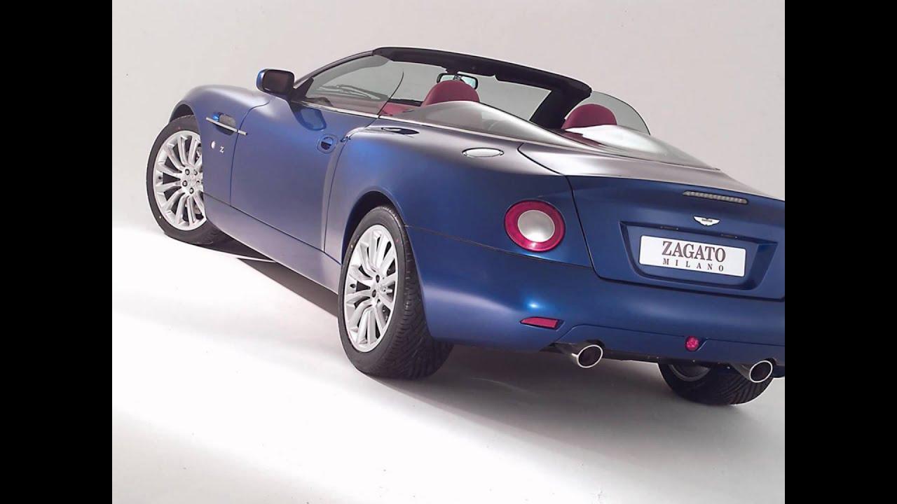 Aston Martin Vanquish Roadster By Zagato YouTube - 2004 aston martin