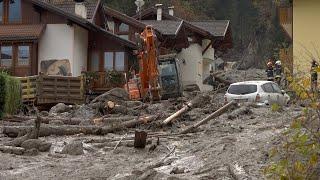 Frana travolge Dimaro (Trento) case raggiunte dal fango, un morto