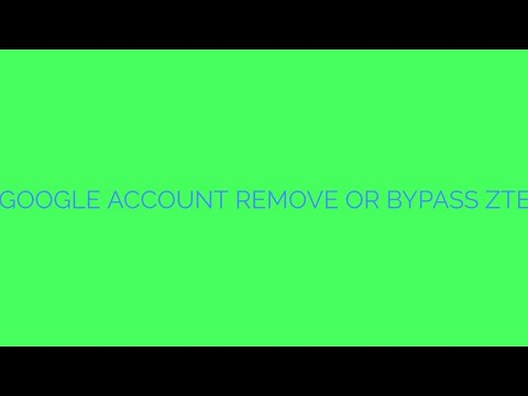 Repeat How to remove Google FRP Account on Metro PCS ZTE