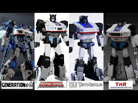 3rd Party Transformers Masterpiece Collection Jazz Wars