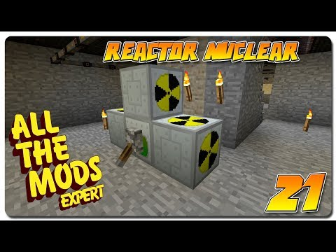 ALL THE MODS EXPERT español | Ep 21 | Reactor nuclear