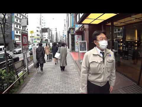 Tokyo Ikebukuro Station and surrounding area hd walking video