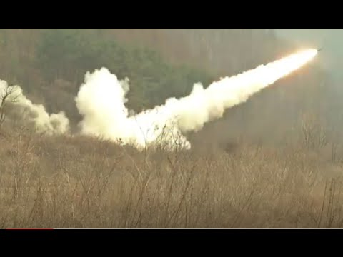 U.S. Marines and South Korean Forces - Joint HIMARS Exercise