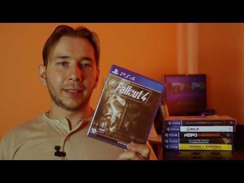 Моя коллекция игОр для PS4 на Июнь 2017 | Game collection for Sony Playstation 4