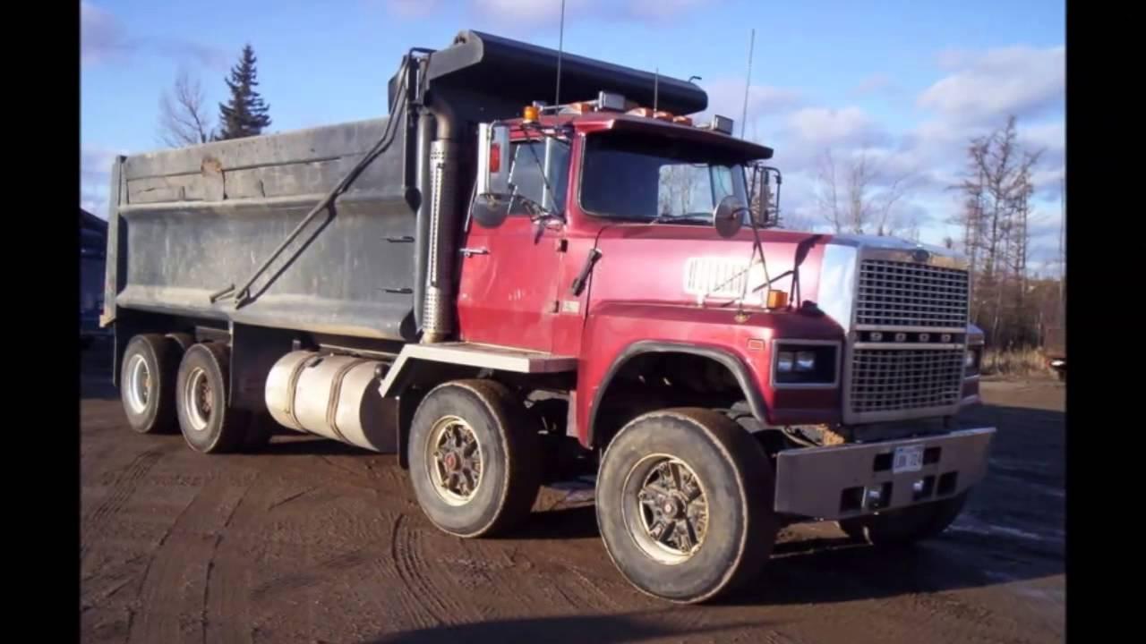Ford Louisville Dump Trucks Vol 3 Youtube