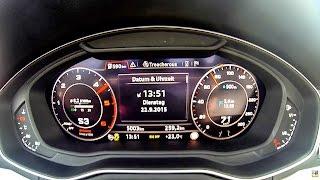 audi a4 3 0tdi quattro 272ps 0 100 km h beschleunigung acceleration 0 100 0 60 ilovecars