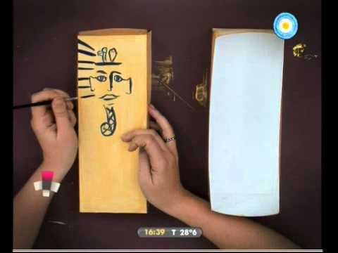 Caja rodante 04 01 11 hoy te mostramos c mo momia youtube - Como hacer una caja de carton ...