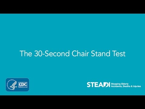 Posture Chair Demo Folding Canada 5x Sit To Stand Test | Doovi