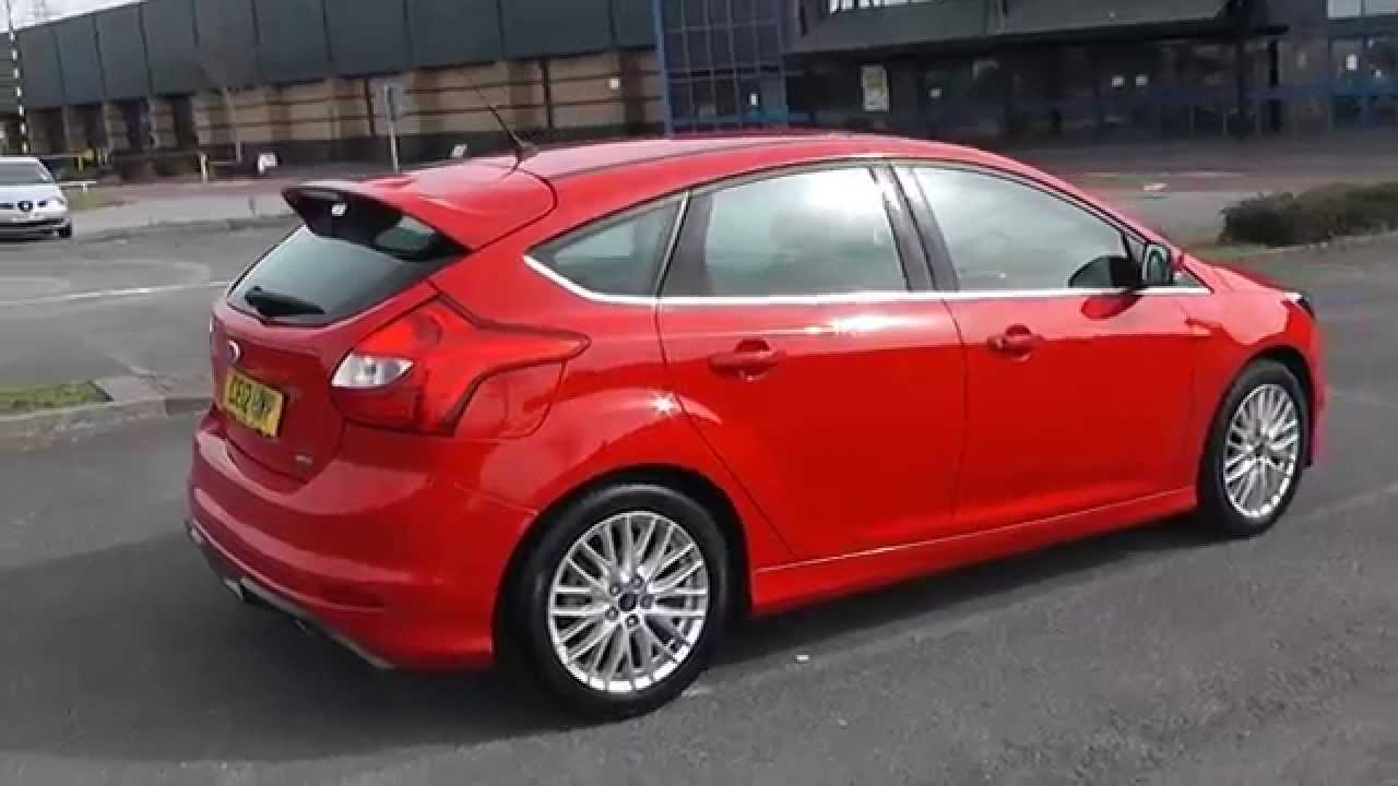 ford focus zetec s t ecoboost 1 6 petrol manual red. Black Bedroom Furniture Sets. Home Design Ideas