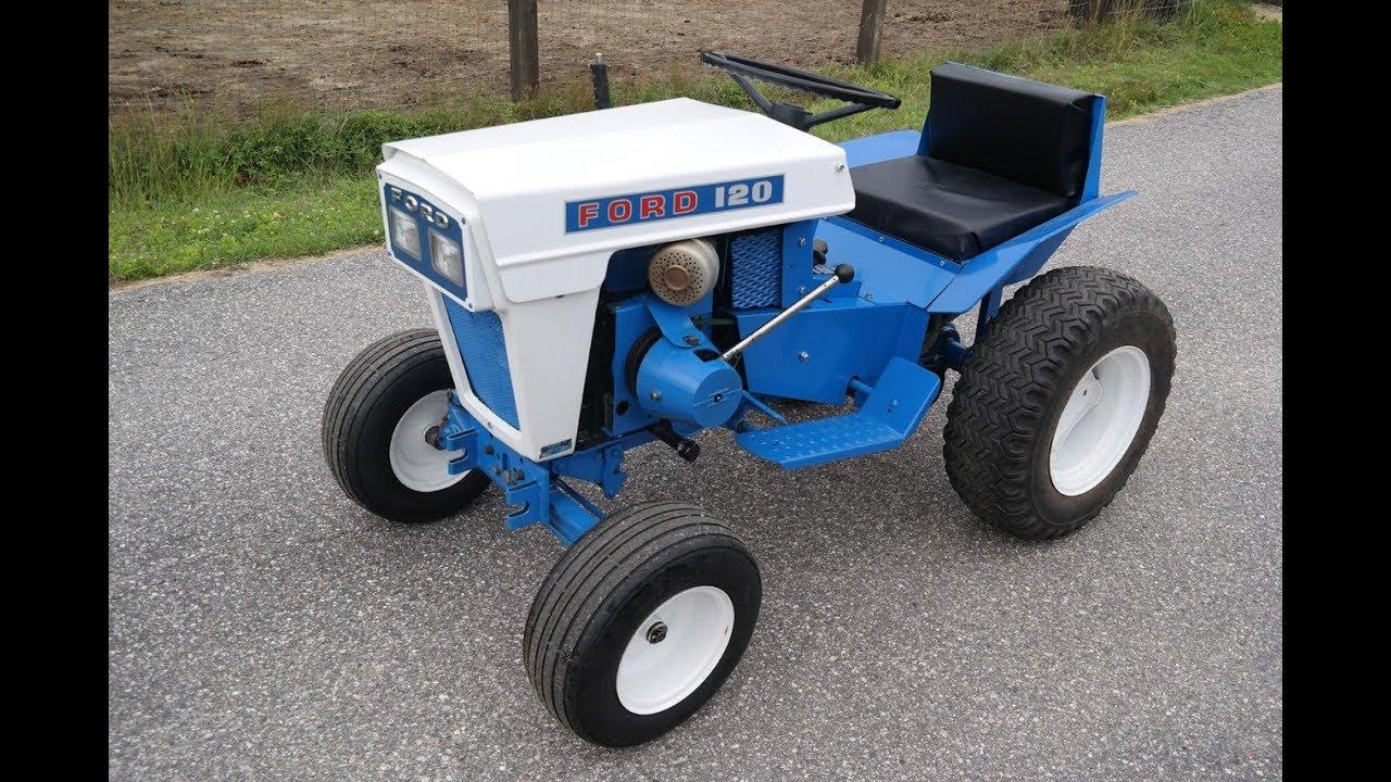 medium resolution of ford 120 garden tractor restoration full start to finish