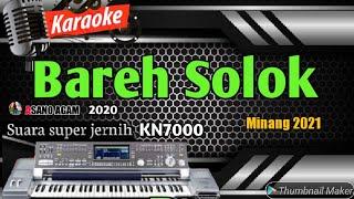 KARAOKE MINANG LAMO || BAREH SOLOK