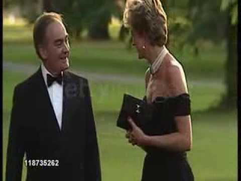 Princess Diana Arrives at the Serpentine Gallery