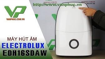 Hướng dẫn sử dụng máy hút ẩm Electrolux EDH16SDAW