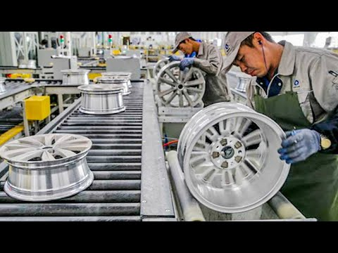 Excellent Truck Wheel Production Process In The Factory. You Never Seen It Before!