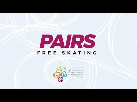 Pairs Free Skating | ISU European Figure Skating Championships | #EuroFigure