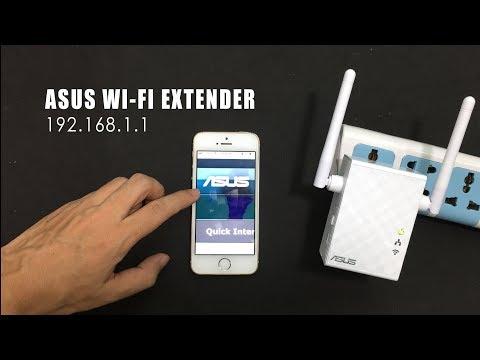 ASUS : 192.168.1.1( Http://repeater.asus.com ) Se Tup ASUS Wi-Fi Extender Using Mobile