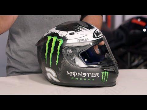 HJC RPHA 10 Ghost Fuera Lorenzo Helmet Review at RevZilla.com