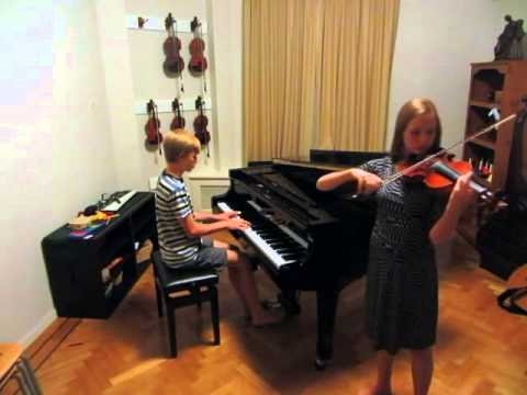 Coldplay - Paradise (Violin and Piano Cover by Emily and Nathan Schaumann)