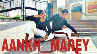 Aankh Mare song dance video choreographer Shahrukh dancer