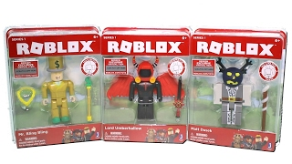 Roblox Series 1 Core Packs Unboxing Toy Review