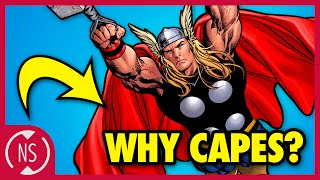 Why Do Superheroes Wear CAPES? || Comic Misconceptions || NerdSync