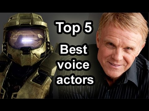 Top 5 - Male voice actors in games - YouTube