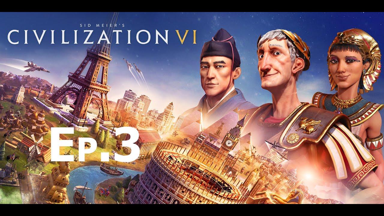 Sid Meier's Civilization VI Norway eп.3   Криза в държавата, но и успехи във войната!