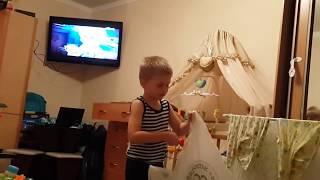 Сын 6 лет покидает отчий дом))) 1 часть