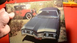 1967 OLDSMOBILE DELTA / DELMONT 88 PLAQUE
