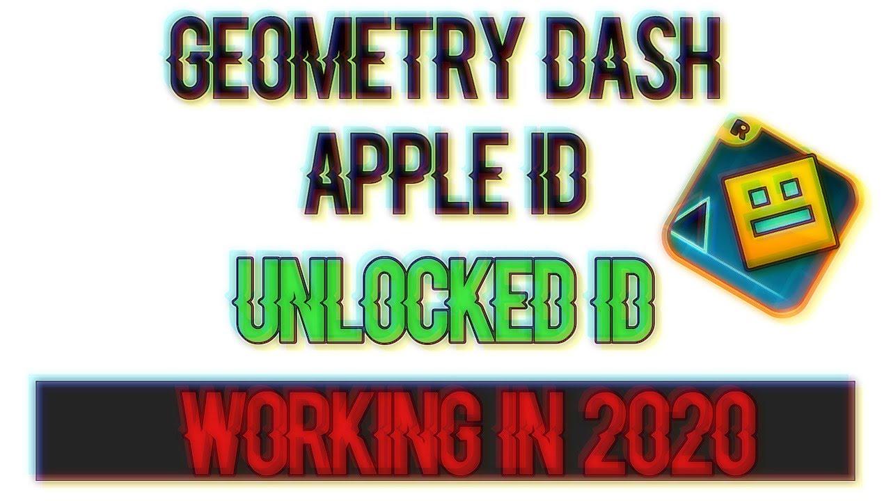 Geometry Dash Apple Id Working Now In 2020 Youtube