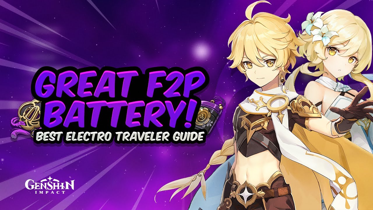 AMAZING ENERGY! Complete Electro Traveler Guide - Best Artifacts, Weapons & Teams   Genshin Impact