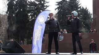 Видеоотчет о флешмобе, посвященному Дню космонавтики в Челябинске