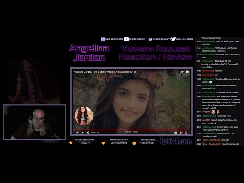 Live Stream Playback - Angelina Jordan - Viewers Request Stream