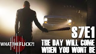 """The Walking Dead """"The Day Will Come When You Won't Be"""" (Season 7, Episode 1) Review"""