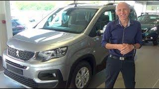 La vraie Présentation du nouveau Peugeot Rifter (remplaçant du partner tepee) - tutos de Berbiguier