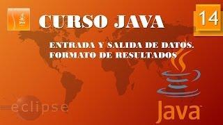 Curso Java. Entrada Salida datos I. Vídeo 14