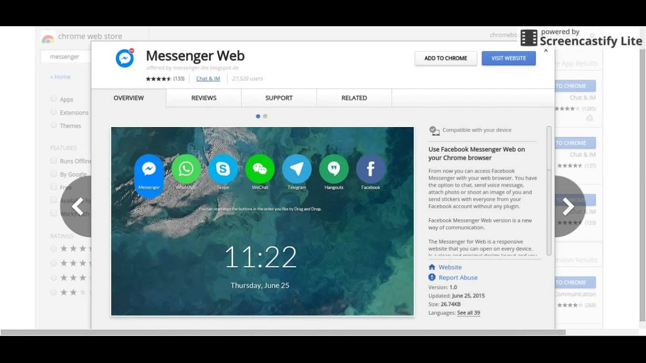 How To Get Facebook Messenger On A Chromebook