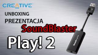 SoundBlaster Play! 2 Prezentacja i test karty dźwiękowej