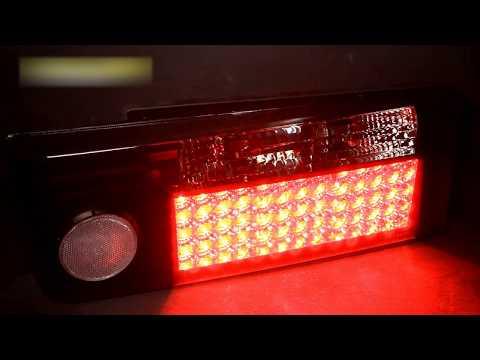 Задние фонари ВАЗ 2109, 21099, 2108 светодиодные