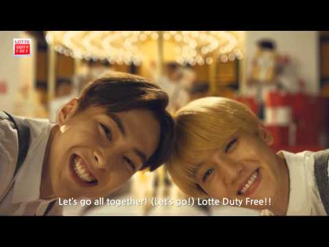 2015 LOTTE DUTY FREE Music Video #EXO_ENG