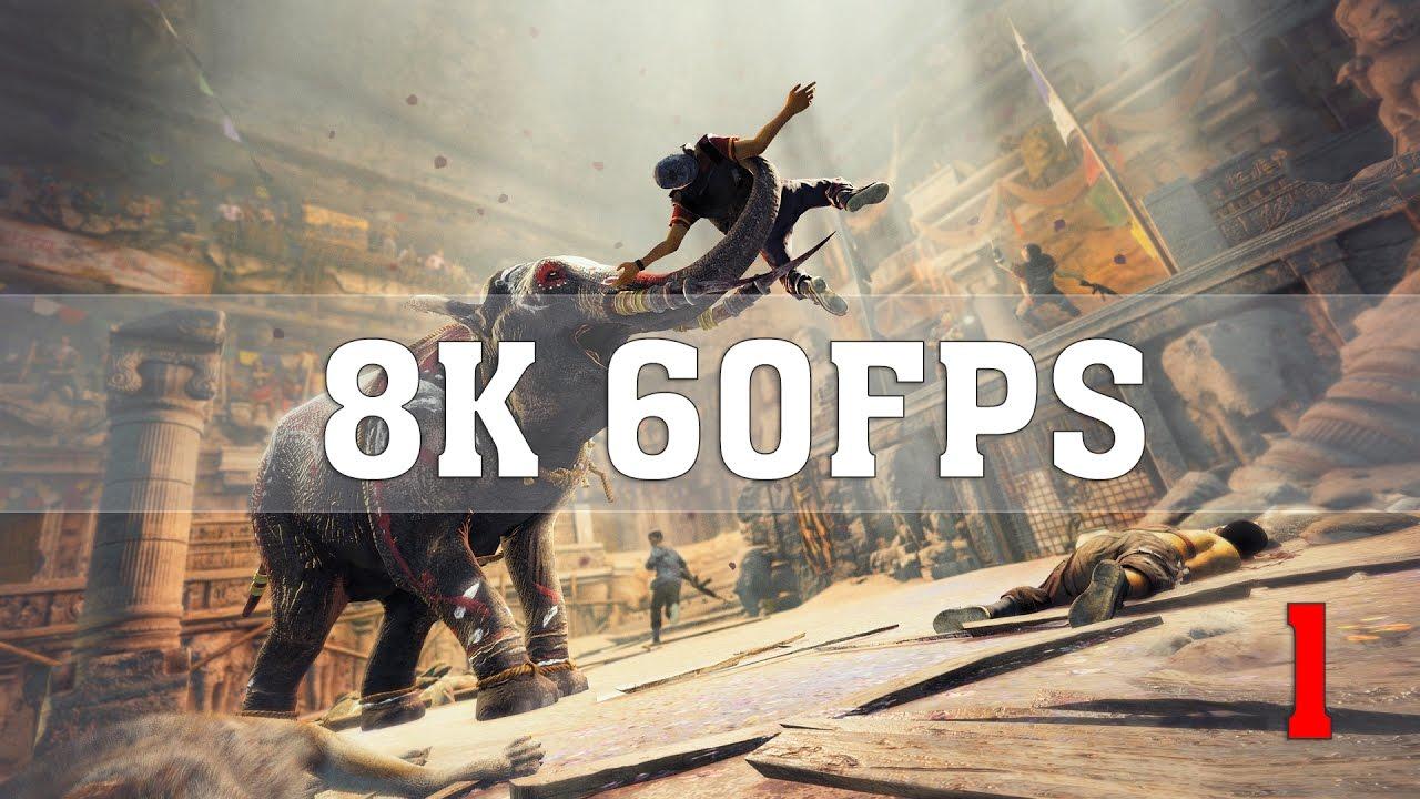 Far Cry 4 8K PC Gameplay [8K 60FPS] | TRUE 8K (7680x4320) | Titan Xp (2017)  4 Way SLI | ThirtyIR