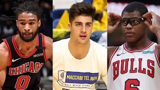 Latest Chicago Bulls News! Coby White Working Out At UNC! | Cristiano Felicio Getting Bought Out?